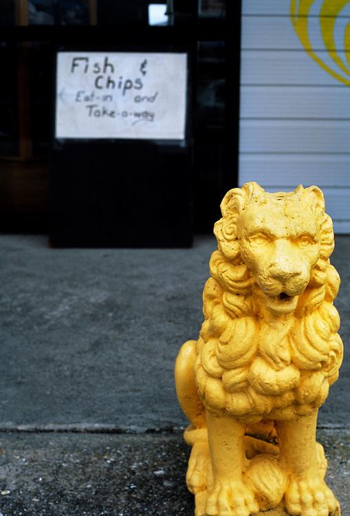 Chip shop, Haast, New Zealand