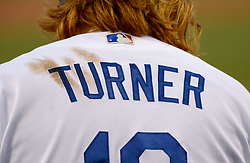 June 20, 2017 - Los Angeles, California, U.S. - Los Angeles Dodgers' Justin Turner during a Major League baseball game against the New York Mets at Dodger Stadium on Tuesday, June 20, 2017 in Los Angeles. (Photo by Keith Birmingham, Pasadena Star-News/SCNG) (Credit Image: © San Gabriel Valley Tribune via ZUMA Wire)