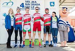 AKHRAMENKA Yauheni (BLR) of Belarus National Team, TSISHCHANKA Hardzei (BLR) of Belarus National Team, SHEMETAU Mikhail (BLR) of Belarus National Team, AHIYEVICH Aleh (BLR) of Belarus National Team during the UCI Class 1.2 professional race 4th Grand Prix Izola, on February 26, 2017 in Izola / Isola, Slovenia. Photo by Vid Ponikvar / Sportida