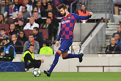 November 5, 2019, Barcelone, Espagne: FOOTBALL: FC Barcelone vs SK Slavia Praha - Champions League - 05/11/2019.Gerard Pique. (Credit Image: © Panoramic via ZUMA Press)
