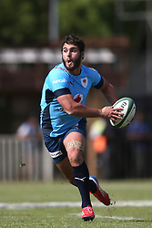 Dries Swanepoel of the Blue Bulls on the attack during the Currie Cup premier division match between the Boland Cavaliers and The Blue Bulls held at Boland Stadium, Wellington, South Africa on the 23rd September 2016<br /> <br /> Photo by:   Shaun Roy/ Real Time Images