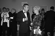 LIONEL BARBER; MARIA BALSHAW, RA Annual dinner 2018. Piccadilly, 5 June 2018.