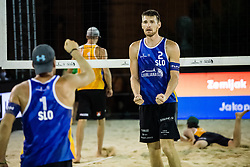 during Beach Volleyball World Tour in Ljubljana 2020, on August 1, 2020 in Kongresni trg, Ljubljana, Slovenia. Photo by Grega Valancic / Sportida