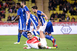 January 19, 2019 - Monaco, France - 09 RADAMEL FALCAO (MONA) - CHUTE (Credit Image: © Panoramic via ZUMA Press)
