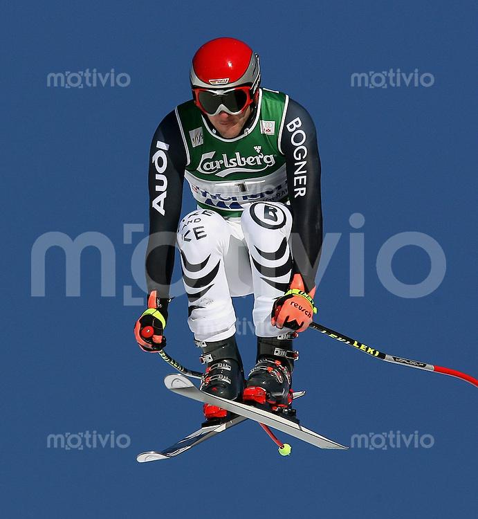 Ski Alpin; Saison 2006/2007  77. Weltcup Abfahrt Herren Stephan Keppler (GER) am Hundschopfsprung