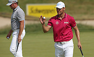 Martin Kaymer (GER) going neck and neck with Victor Dubuisson (FRA) until the 15th hole  during Round Two of the 2015 Alstom Open de France, played at Le Golf National, Saint-Quentin-En-Yvelines, Paris, France. /03/07/2015/. Picture: Golffile   David Lloyd<br /> <br /> All photos usage must carry mandatory copyright credit (© Golffile   David Lloyd)