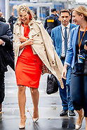 KONINGIN MAXIMA IN NEW YORK DAG 1