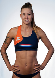 Puk Stubbe during the BTN photoshoot on 3 september 2020 in Den Haag.