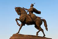 Ouzbekistan, Tashkent, Statue de Timur, Tamerlan // Uzbekistan, Tashkent, Timur Statue