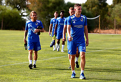 Tom Lockyer of Bristol Rovers and teammates prepare for training on their first day in Portugal - Mandatory by-line: Robbie Stephenson/JMP - 18/07/2017 - FOOTBALL - Colina Verde Golf & Sports Resort - Moncarapacho, England - Sky Bet League One