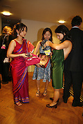 Charlene Lim, Tan Shir Ee and Fabiana Piccioli, Sadler's Wells Celebrates. Benefit evening for Sadler's Wells hosted by Angela Bernstein and Alistair Spalding. The Royal Horticultural Halls. London. 25 September 2006. -DO NOT ARCHIVE-© Copyright Photograph by Dafydd Jones 66 Stockwell Park Rd. London SW9 0DA Tel 020 7733 0108 www.dafjones.com