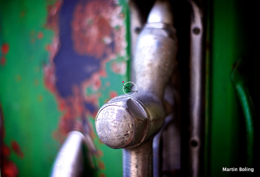 Vintage Gas Pump, Cataract Indiana