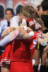 Viqueens Coed, Norway, 3rd place in category Cheer Mixed - Senior during final ceremony at second day of European Cheerleading Championship 2008, on July 6, 2008, in Arena Tivoli, Ljubljana, Slovenia. (Photo by Vid Ponikvar / Sportal Images).