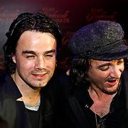 NLD/Amsterdam/20100322 -  Uitreiking Rembrandt Awards 2009, Kane, Diand Woesthoff en Dennis van Leeuwen