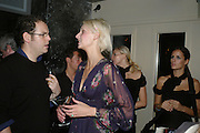 SARAH CASLETON, The launch of ' Cooler, Faster, More Expensive, - the Return of the Sloane Ranger. By Peter York and Olivia Stewart-Liberty. Kitts. 7-12 Sloane sq. London. 15 October 2007. -DO NOT ARCHIVE-© Copyright Photograph by Dafydd Jones. 248 Clapham Rd. London SW9 0PZ. Tel 0207 820 0771. www.dafjones.com.