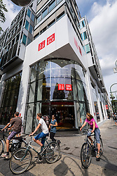 Uniqlo store on Tauentzienstraße in  Berlin Germany