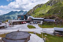 THEMENBILD - Langwied Seilbahnstationen am Kitzsteinhorn, aufgenommen am 16. Juli 2019 in Kaprun, Österreich // Langwied Cableway Stations at the Kitzsteinhorn, Kaprun, Austria on 2019/07/16. EXPA Pictures © 2019, PhotoCredit: EXPA/ JFK
