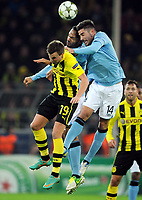 v.l. Kevin Grosskreutz, Joleon Lescott, Javi Garcia (City)<br /> Fussball Champions League, Gruppenphase, Borussia Dortmund - Manchester City<br /> Norway only