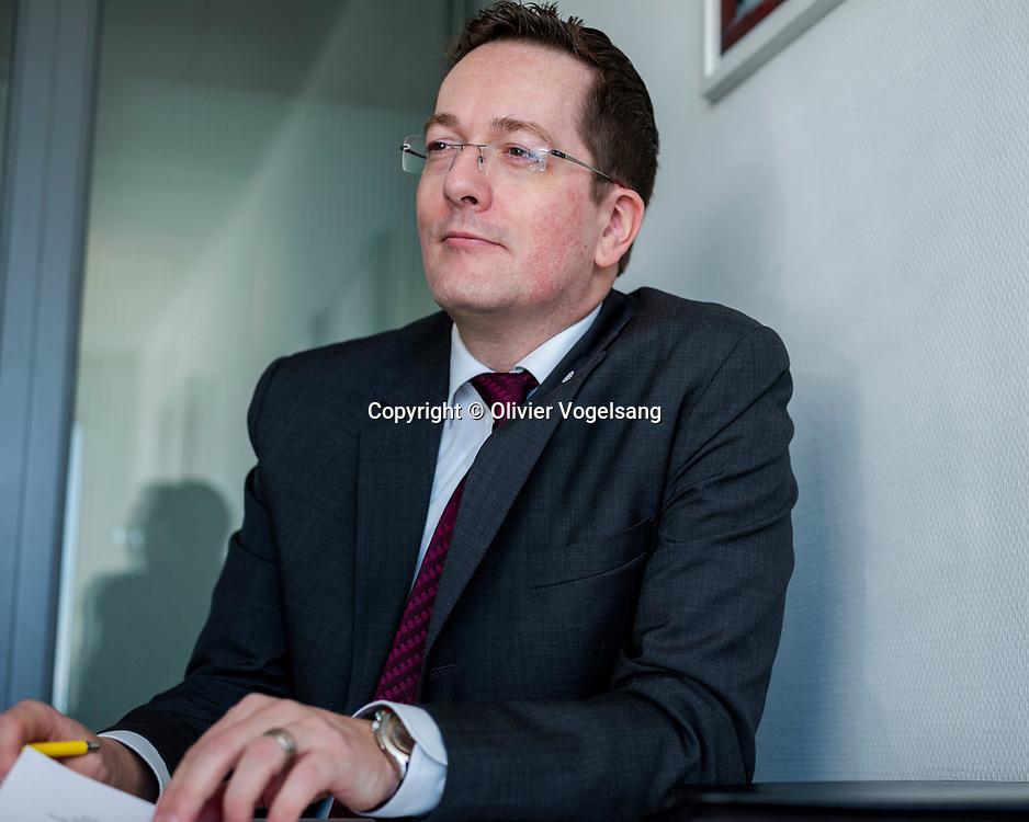 Genève, décembre 2019. Markus Kummer, directeur Assistance du TCS à Blandonnet, Vernier. © Olivier Vogelsang