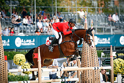 Schwizer Pius (SUI) - Toulage<br /> Team consolation competition<br /> Furusiyya FEI Nations Cup Jumping Final<br /> CSIO Barcelona 2013<br /> © Dirk Caremans