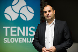 Andrej Slapar, new president during General Assembly of Slovenian Tennis Federation, on December 12, 2018 in Kristalna palaca, Ljubljana, Slovenia. Photo by Vid Ponikvar / Sportida