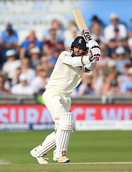 England's Moeen Ali during day four of the the second Investec Test match at Headingley, Leeds. PRESS ASSOCIATION Photo. Picture date: Monday August 28, 2017. See PA story CRICKET England. Photo credit should read: Nigel French/PA Wire. RESTRICTIONS: Editorial use only. No commercial use without prior written consent of the ECB. Still image use only. No moving images to emulate broadcast. No removing or obscuring of sponsor logos.