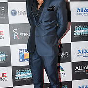 """Ahad Raza Mir attend Photocall in London Premiere of """"Parwaaz Hai Junoon"""" (Soaring Passion) as featured on SKY, ITV at The May Fair Hotel, Stratton Street, London, UK. 22 August 2018."""