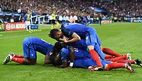 Esultanza gol Antoine Griezmann goal celebration<br /> Paris 03-07-2016 Stade de France Football Euro2016 France - Iceland / Francia - Islanda Quarter finals <br /> Foto Matteo Gribaudi/Image Sport