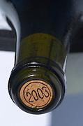 2003 stamped on Cork. Pur Sang, , Didier Daguenau, Pouilly sur Loire. Loire, France