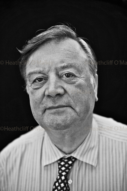 Mcc0017188. Daily Telegraph..Kenneth Clarke MP ,Shadow Secretary of State for Business, photographed in his Westminster office...London 1 October 2009