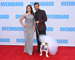 """Los Angeles premiere of """"Overboard"""" held at the Regency Village Theatre on April 30, 2018 in Westwood, CA. 30 Apr 2018 Pictured: Alessandra Rosaldo, Eugenio Derbez and Fiona. Photo credit: O'Connor/AFF-USA.com / MEGA TheMegaAgency.com +1 888 505 6342"""