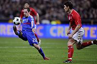Fotball<br /> Frankrike v England<br /> 26.03.2008<br /> Foto: DPPI/Digitalsport<br /> NORWAY ONLY<br /> <br /> FOOTBALL - FRIENDLY GAMES 2007/2008 - 26/03/2008 - FRANCE v ENGLAND - FRANCK RIBERY (FRA)