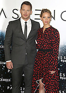 Chris Pratt & Jennifer Lawrence, Passengers - Photocall