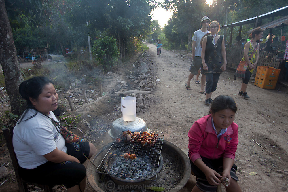 Chomphet District across the Mekong River from Luang Prabang, Laos.