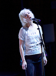 If You Kiss Me, Kiss Me                                    <br /> Conceived by Jane Horrocks and Aletta Collins<br /> at The Young Vic Theatre, London, Great Britain <br /> Press photocall <br /> 14th March 2016 <br /> <br /> <br /> Jane Horrocks<br /> <br /> <br /> Photograph by Elliott Franks <br /> Image licensed to Elliott Franks Photography Services
