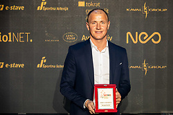 Senijad Ibricic of Domzale during SPINS XI Nogometna Gala 2019 event when presented best football players of Prva liga Telekom Slovenije in season 2018/19, on May 19, 2019 in Slovene National Theatre Opera and Ballet Ljubljana, Slovenia. Photo by Vid Ponikvar / Sportida