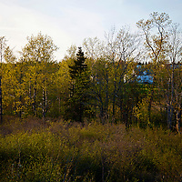 North America, Canada, Nova Scotia, Guysborough. Scenery from the Trans-Canada Trail through Guysborough.