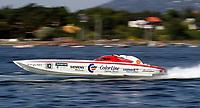 VM Offshore - Oslo - 10. august 2003<br /> <br /> Bjørn Rune Gjelsten og Steve Curtis tok en overbevisende seier i havnebassenget i Oslo.<br /> <br /> Spirit Of Norway<br /> <br /> (Foto: Lars Henrik Kjølberg / Digitalsport)