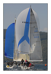 Bell Lawrie Scottish Series 2008. Fine North Easterly winds brought perfect racing conditions in this years event..Class 2 GBR1433R Salamander XX