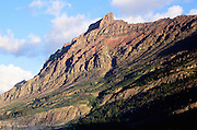 Mountain near St Mary Lake Glacier National Park