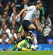 Tottenham Hotspur v Norwich City 140913