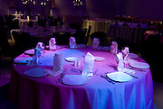 Table set for a meal