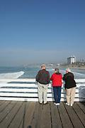 Crystal Pier Hotel, Crystal Pier, Pacific Beach, San Diego, California (SD)