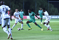 SOUTH AFRICA: GAUTENG: Bidvest Wits player Cole Alexander and Thabang Monare clash with Bloemfontein Celtic player Victor Letsoalo during the Absa Premiership at Bidvest Stadium Gauteng.<br />857<br />10.11.2018<br />Picture: Itumeleng English/African News Agency (ANA)
