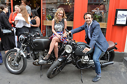 MATT & MARISSA HERMER at a party to celebrate the launch of Top Dog at 48 Frith Street, Soho, London on 27th May 2015