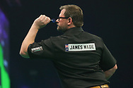James Wade during the PDC Unibet Premier League darts at Marshall Arena, Milton Keynes, United Kingdom on 24 May 2021.