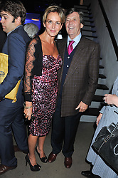 CAROLINE MICHEL and LORD BRAGG at a party to celebrate the publication of Joseph Anton by Sir Salman Rushdie held at The Collection, 264 Brompton Road, London SW3 on 14th September 2012.