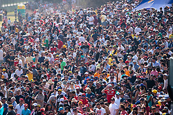 March 17, 2019 - Albert Park, VIC, U.S. - ALBERT PARK, VIC - MARCH 17: Big crowd at The Australian Formula One Grand Prix on March 17, 2019, at The Melbourne Grand Prix Circuit in Albert Park, Australia. (Photo by Speed Media/Icon Sportswire) (Credit Image: © Steven Markham/Icon SMI via ZUMA Press)