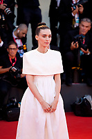 Venice, Italy, 31st August 2019, Rooney Mara at the gala screening of the film Joker at the 76th Venice Film Festival, Sala Grande. Credit: Doreen Kennedy
