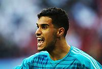 Football - 2018 FIFA World Cup - Group B: Morocco vs. Iran<br /> <br /> Morocco goalkeeper Munir is seen at Krestovsky Stadium, Saint Petersburg.<br /> <br /> COLORSPORT/IAN MACNICOL